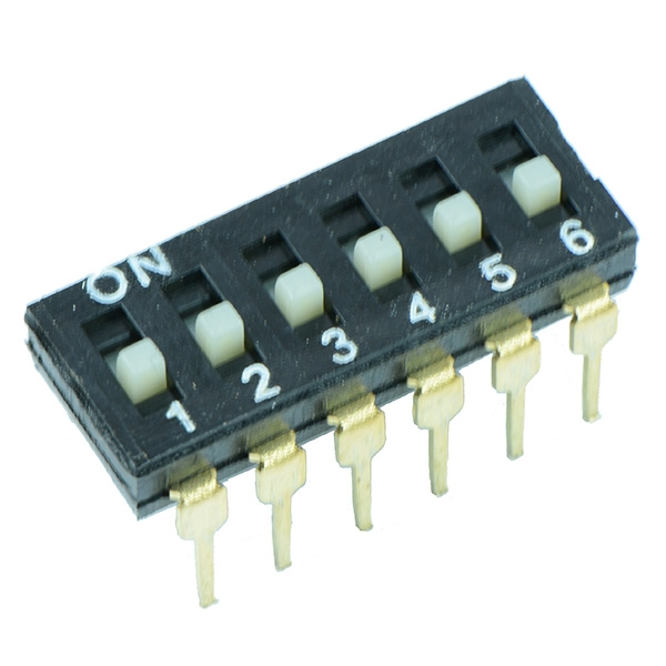 Low Profile DIL Switches