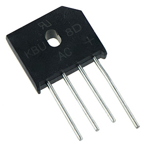 8A Inline Bridge Rectifier