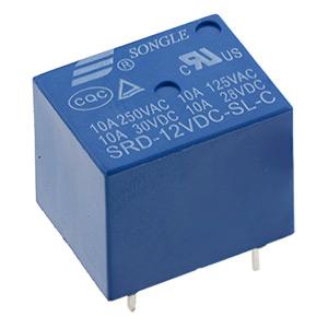 Miniature 10A Relays SPDT