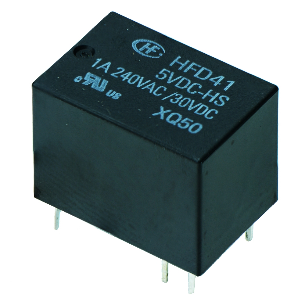 SPDT Subminiature Relay 1A HFD41