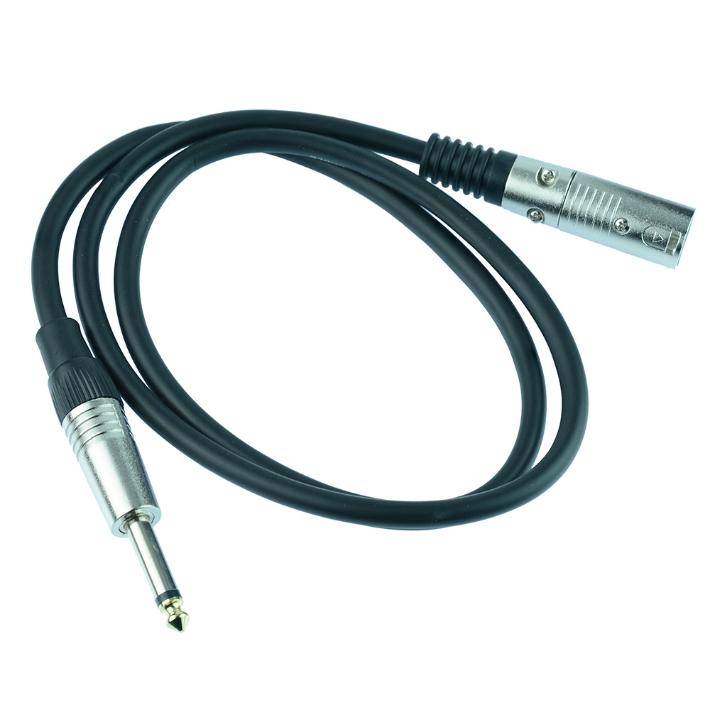 6.35mm Mono to XLR Male Cables