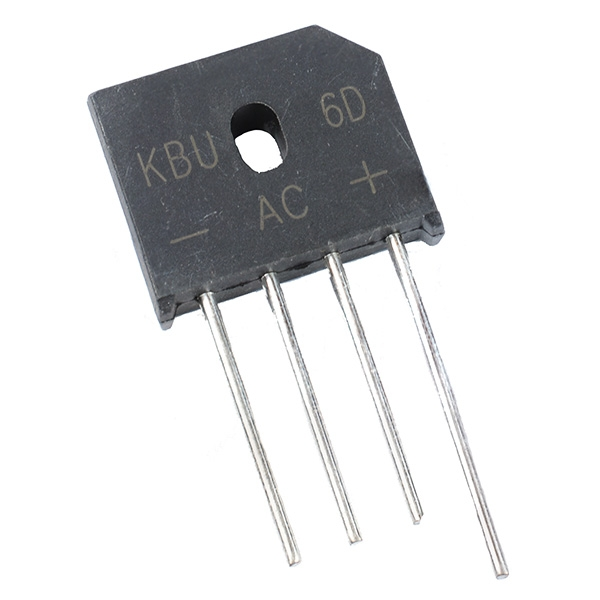 6A Inline Bridge Rectifier Diodes