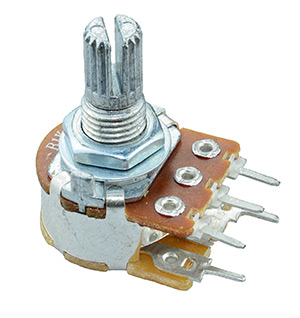 Mono 16mm Potentiometers W/Switch