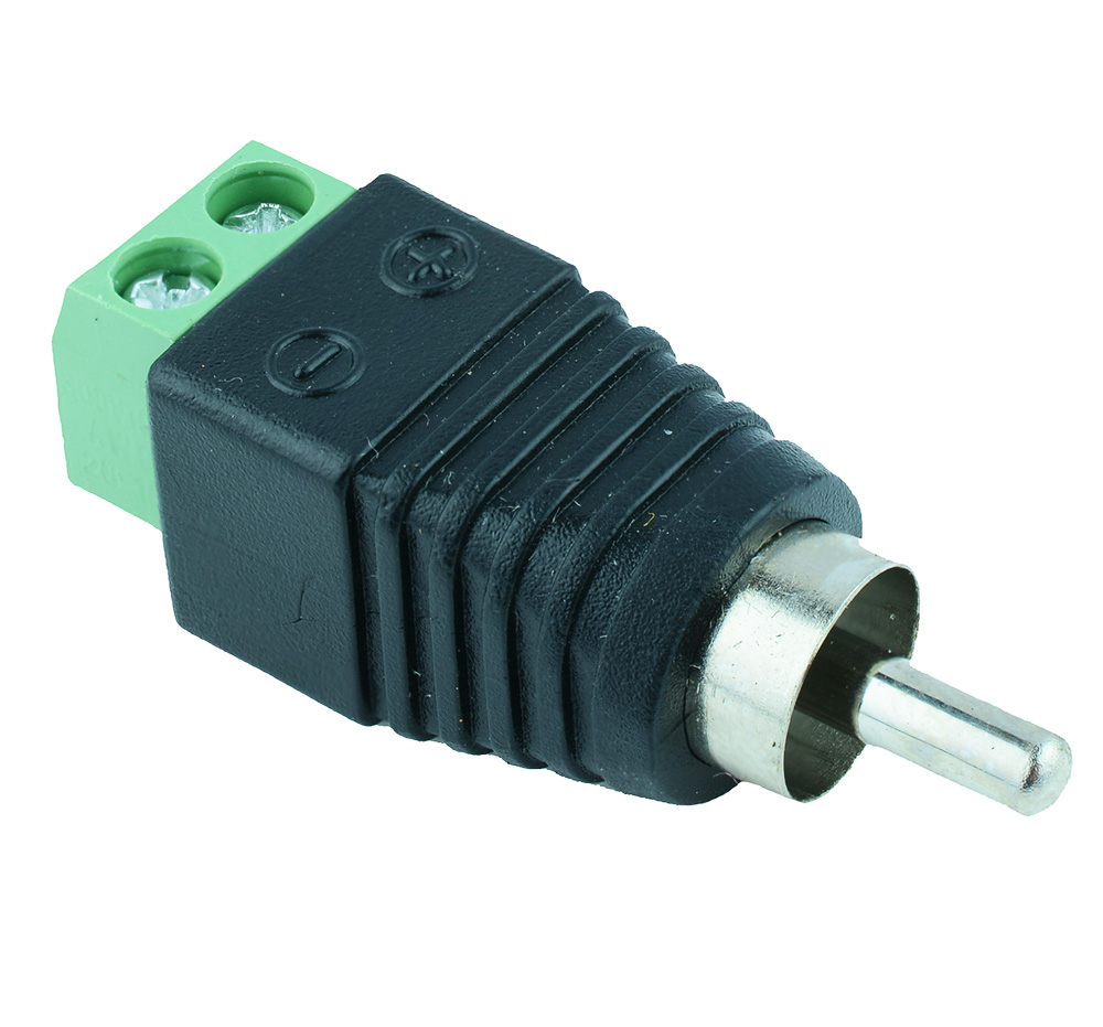 Screw RCA Connectors