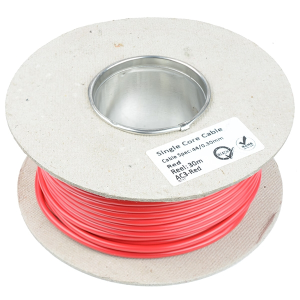 3mm 44/0.3mm Cable 50M Reel