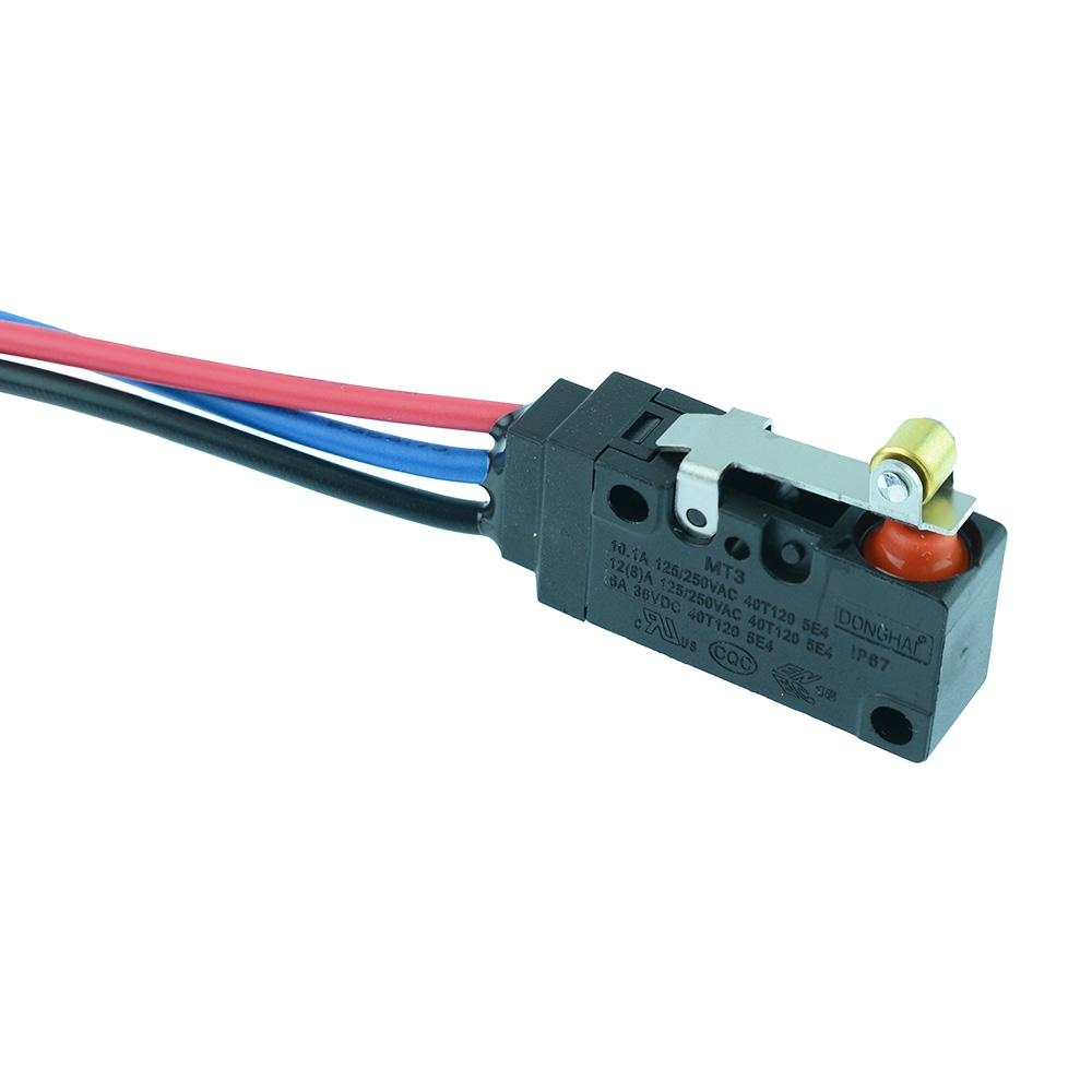 Prewired Waterproof Microswitches
