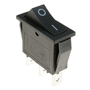 Slim Rectangular Rocker Switches