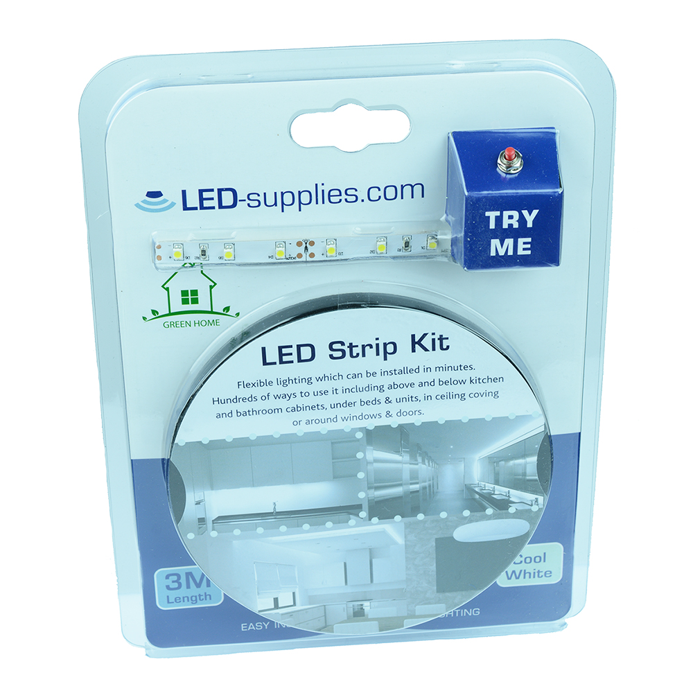 'Try Me' 3M LED Strip Kits with PSU