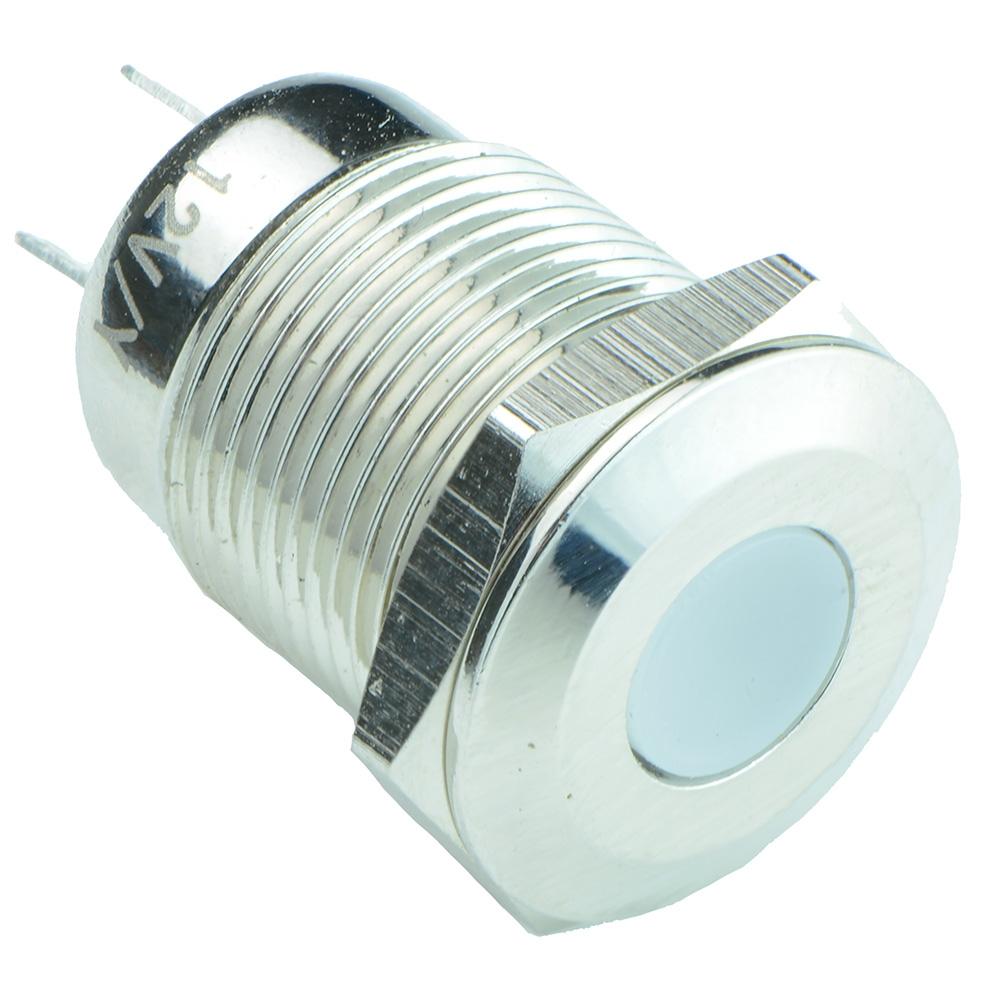 12mm Metal LED Indicator IP65