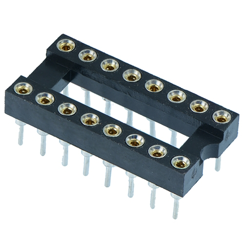 DIL Sockets - Turned Pin