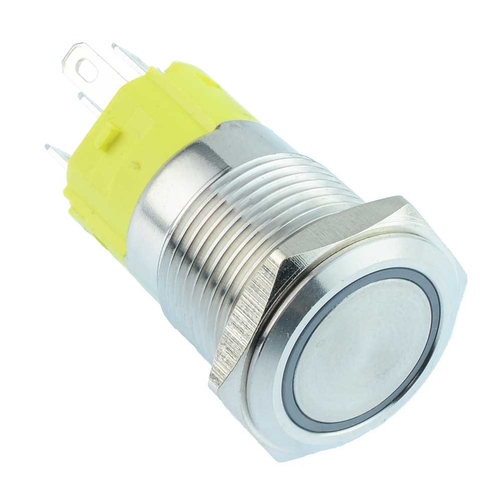 16mm illuminated Vandal Resistant Switches