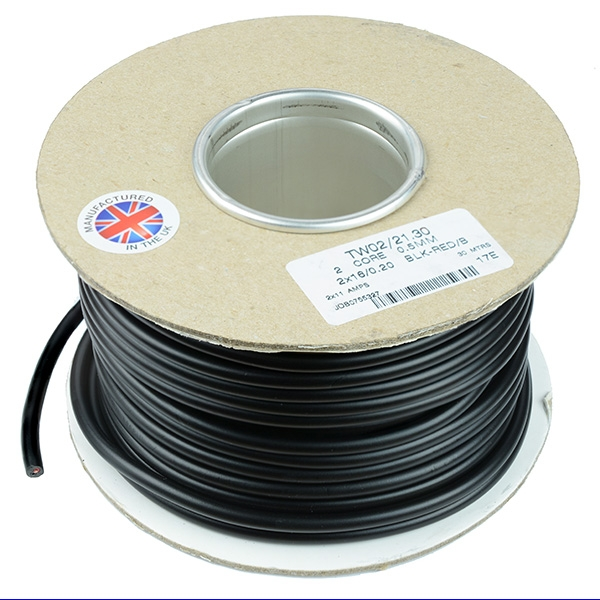 Sheathed 2-Core Wire