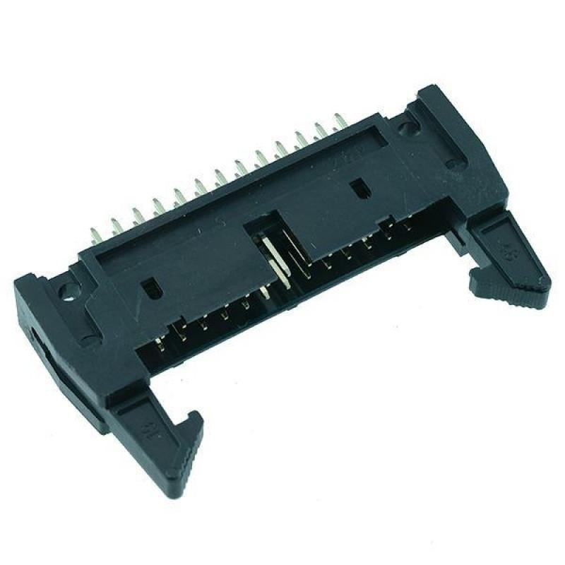 IDC Latched PCB Plug 2.54mm
