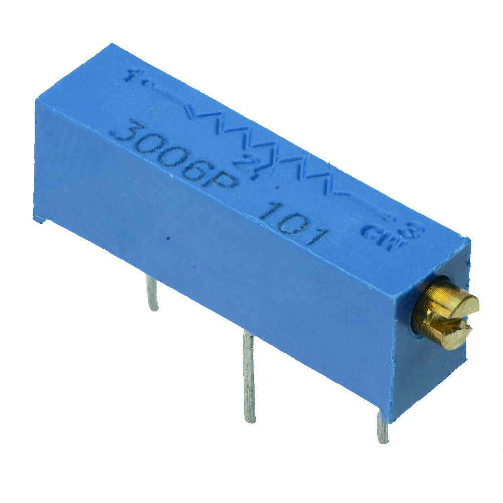 3006 19mm Multiturn Cermet Potentiometer