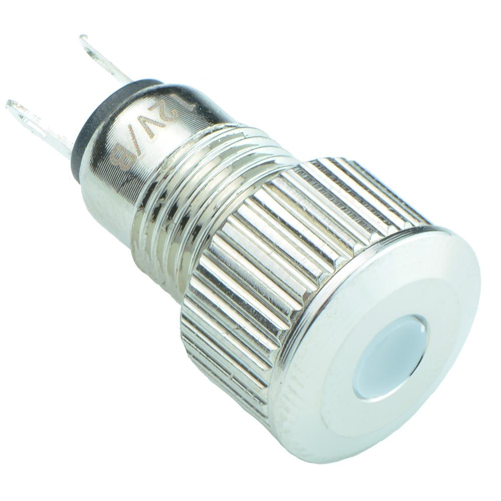 8mm Metal LED Indicator IP65