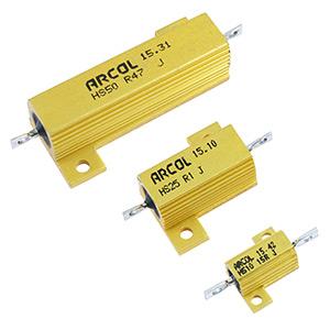 Aluminium Clad Resistors