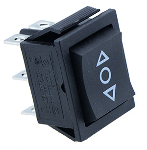 Double Pole Rocker Switches