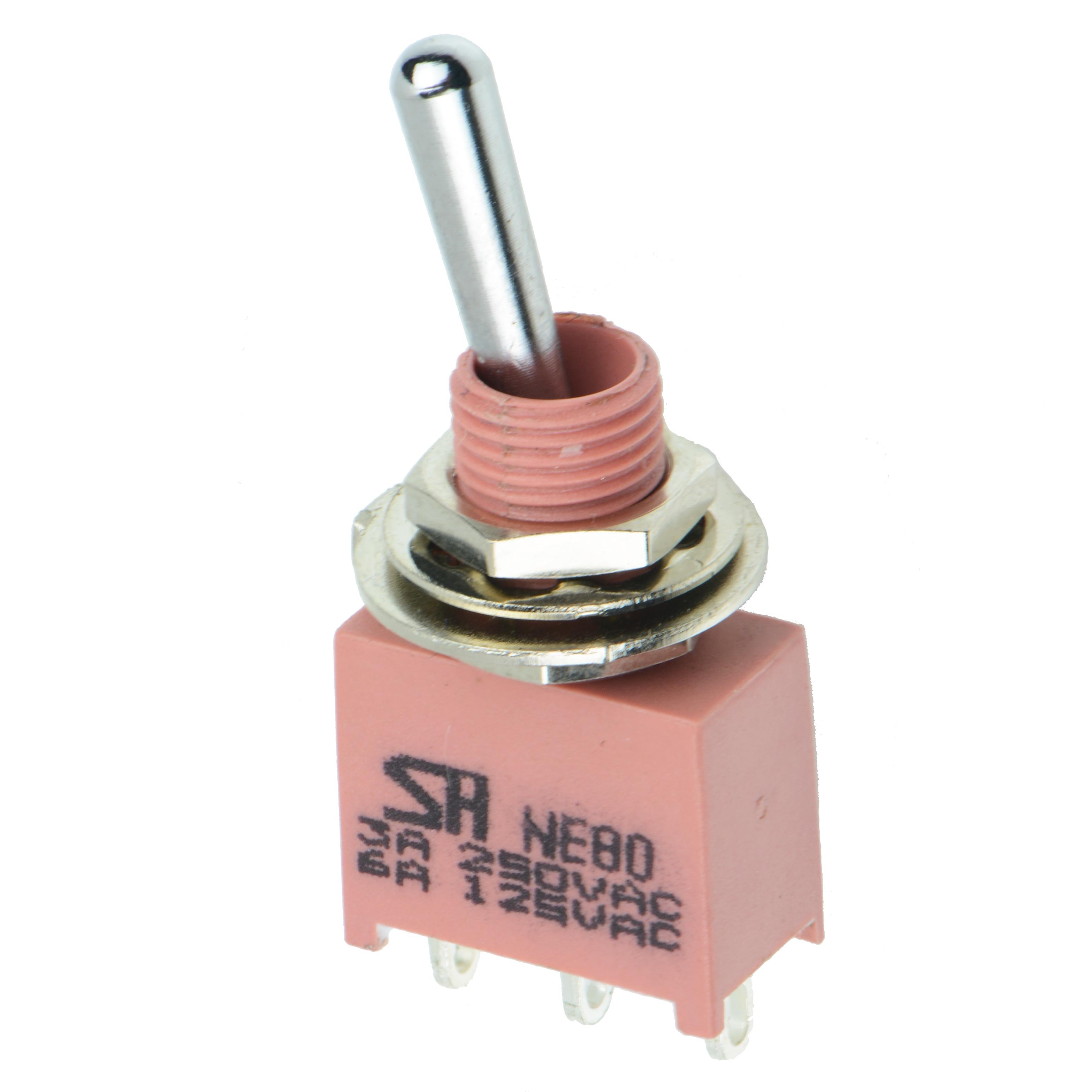 Sealed Miniature Toggle Switches NE80