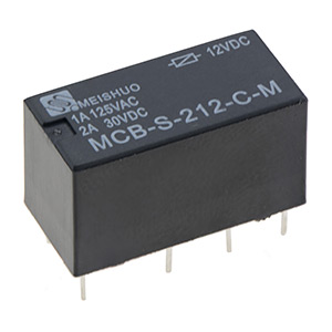 Subminiature Relays DPDT 2A