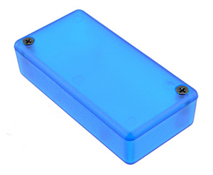 1551 Series Translucent Blue Hammond ABS Enclosures