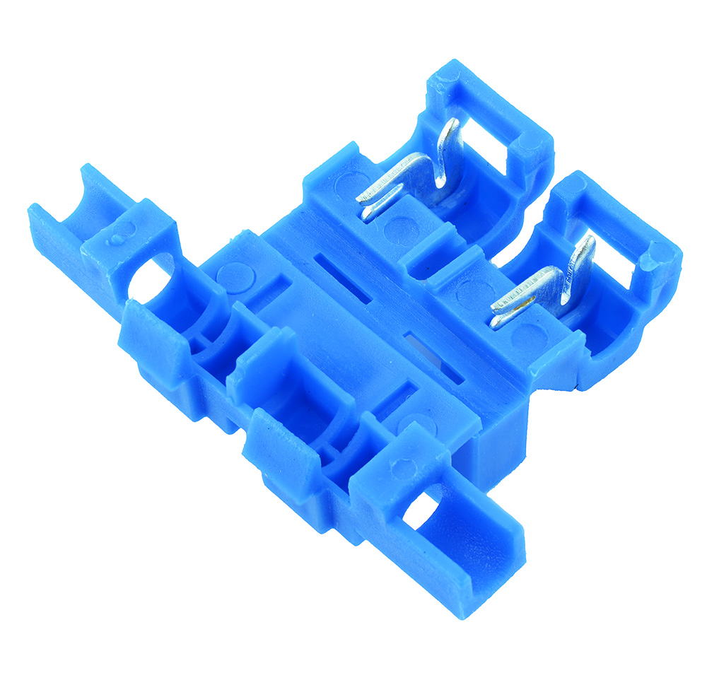 Self-Stripping Fuse Holder