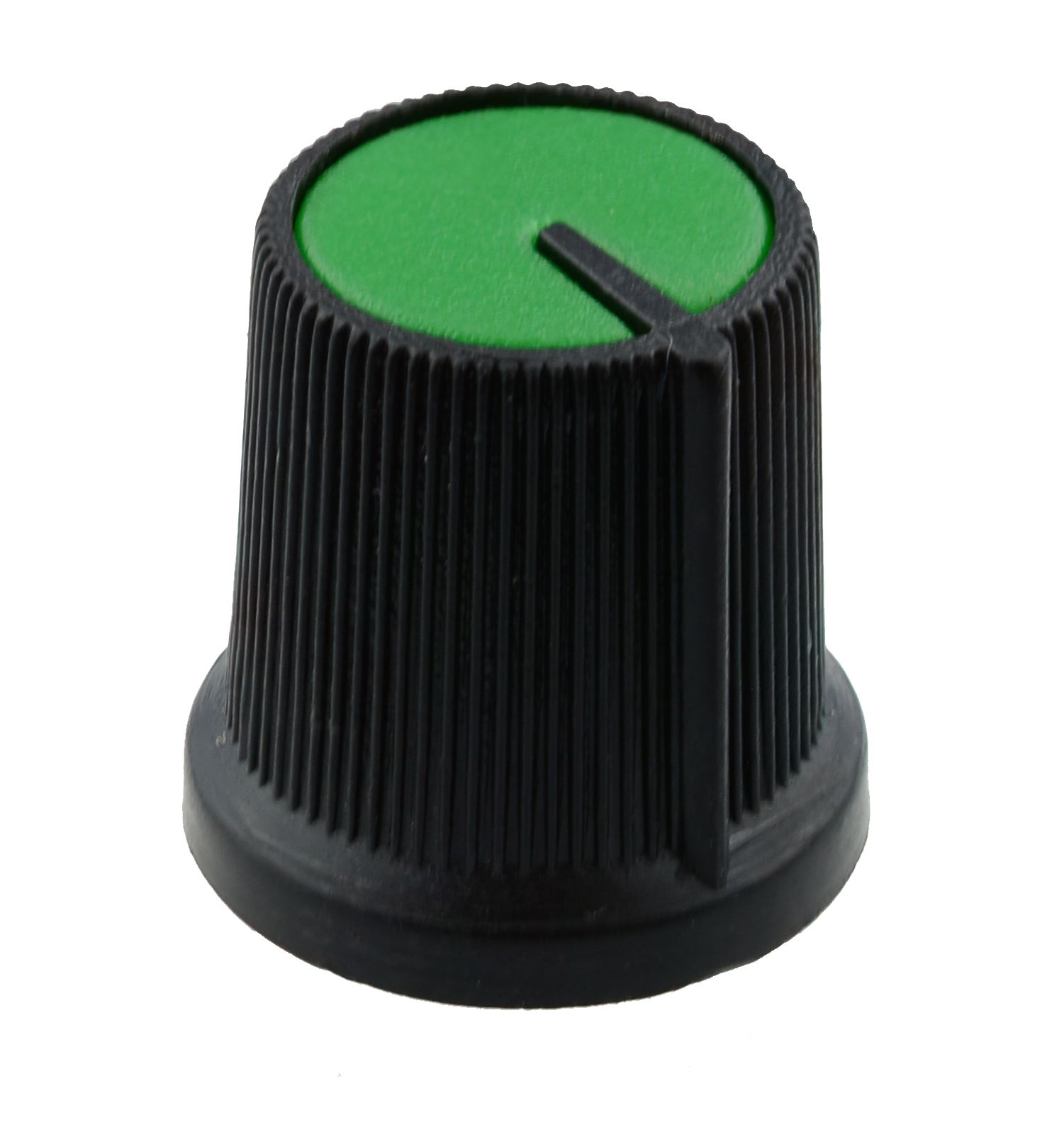 Green 6mm Pointer Knob