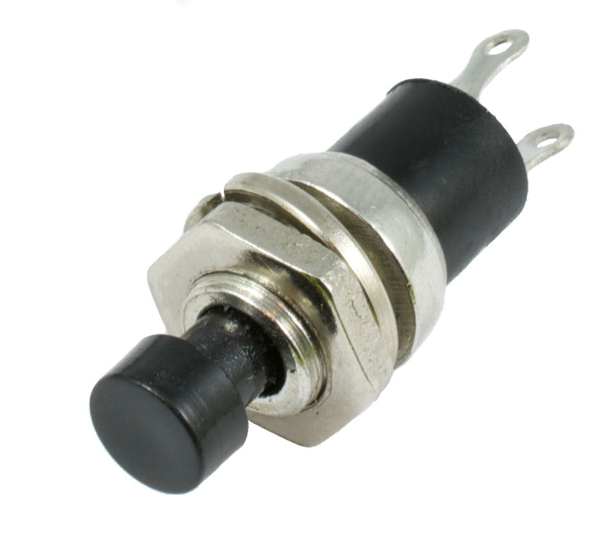 Black Mini Off(On) Momentary Switch SPST