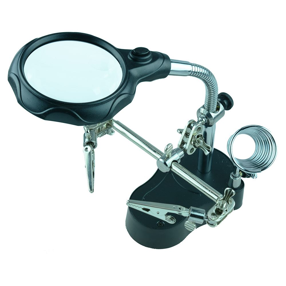 Deluxe Helping Hands with Magnifier and Light