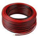 Red/Black 0.5mm² 2-Core Speaker Cable 50M